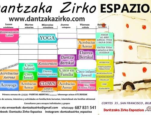 LA MODERN en Dantzaka Zirko Espazioa – Teatro Clown  en Bilbao